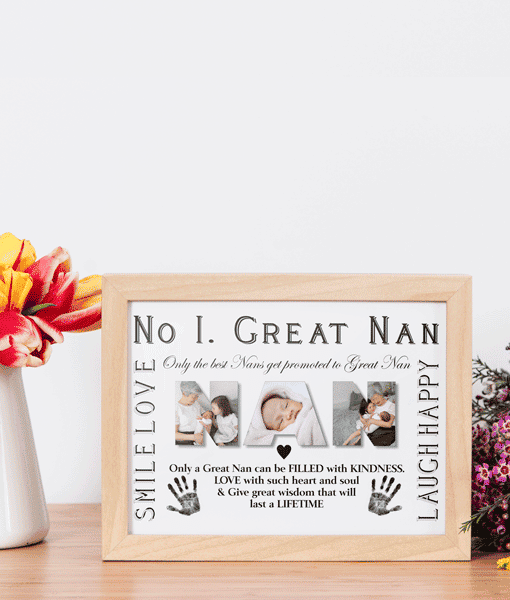 Personalised Great NAN Photo Gift