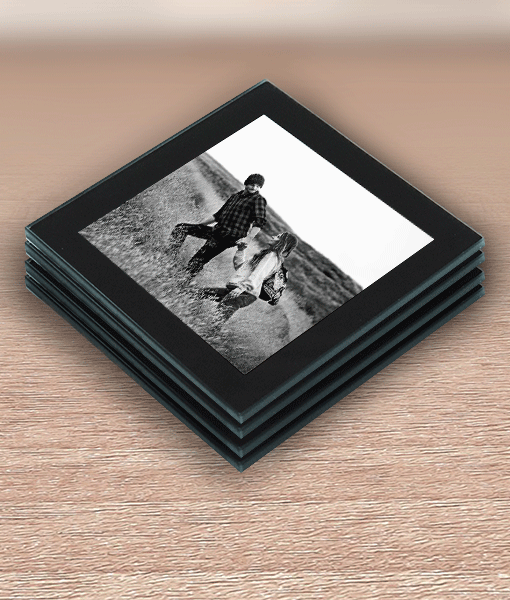 Birthday Gifts Personalised Photo Coasters