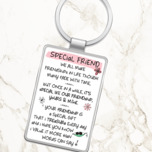 Special Friend – Metal Keyring