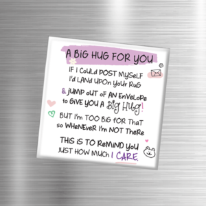 Gifts For Couples A Big Hug – Fridge Magnet