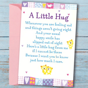 A Little Hug – Sentimental Wallet Card
