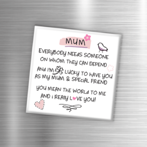Mum – Fridge Magnet