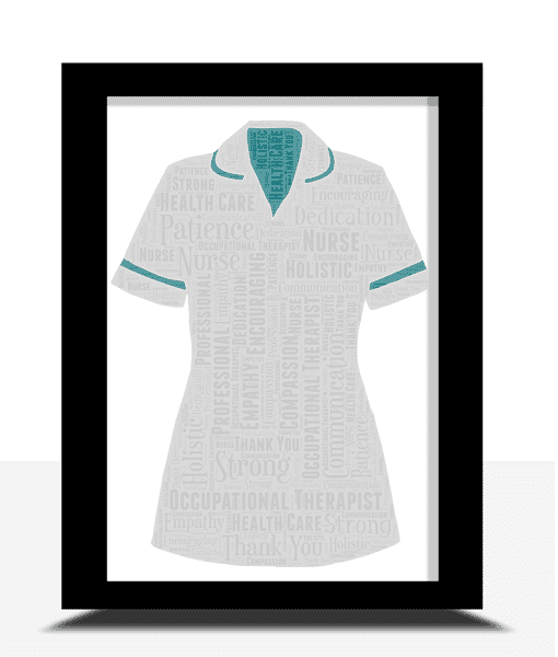 Retirement Gifts Occupational Therapist Word Art Gift
