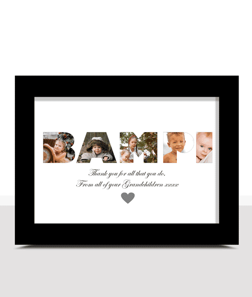 Fathers Day Gifts Personalised BAMPI Photo Gift