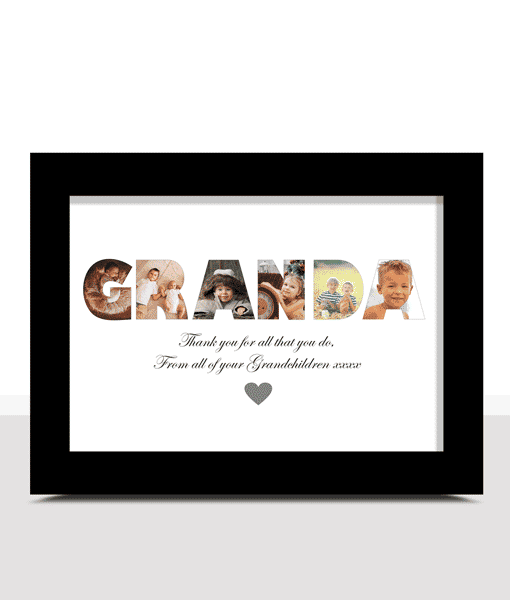Personalised GRANDA Photo Gift Gifts For Grandparents