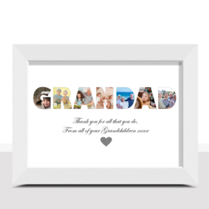 Fathers Day Gifts Personalised GRANDAD Photo Gift