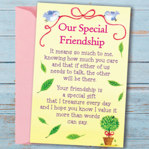 Our Special Friendship – Sentimental Wallet Card Gifts For Friends