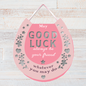 Good Luck Gifts Good Luck Horse Shoe – Plaque