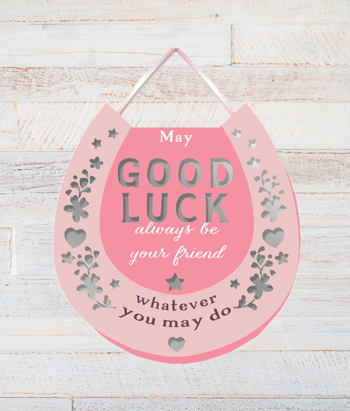 Good Luck Gifts Good Luck Horse Shoe – Plaque