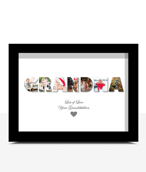 Gifts For Grandparents Personalised GRANDMA Photo Gift
