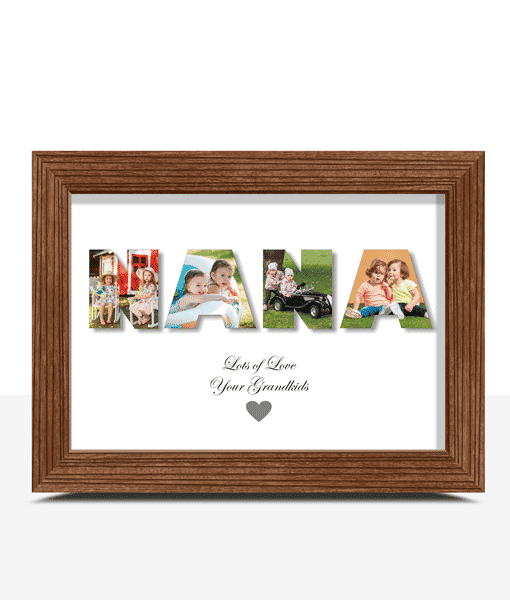 Gifts For Grandparents Personalised NANA Photo Gift