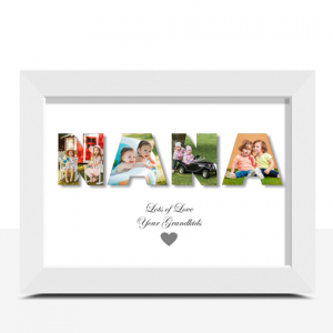 Personalised NANA Photo Gift Gifts For Grandparents