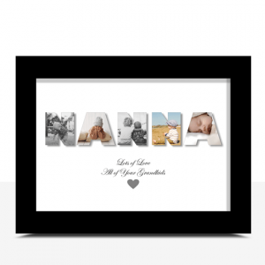 Personalised NANNA Photo Gift Gifts For Grandparents