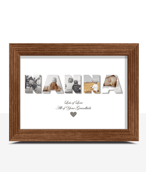 Gifts For Grandparents Personalised NANNA Photo Gift
