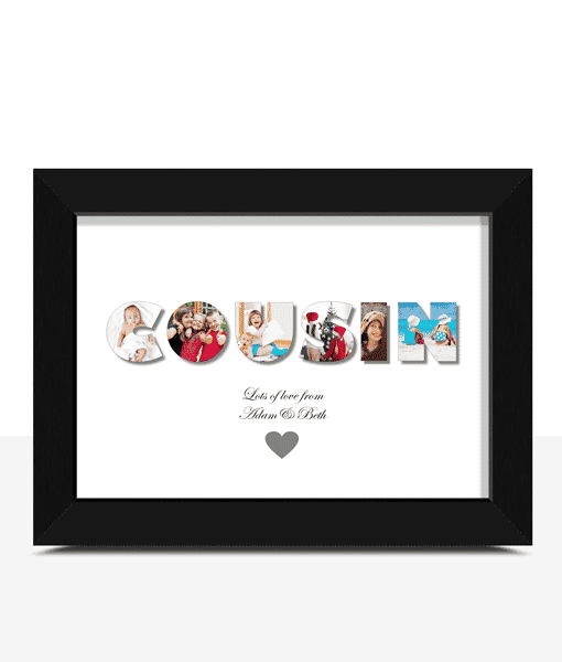 Personalised COUSIN Photo Gift Photo Gifts