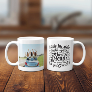 Best Friends Photo Mug – Gift Birthday Gifts