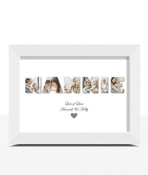 NANNIE – Personalised Photo Gift Gifts For Grandparents